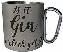 Ist es schon Gin-Uhr? Lustige Neuheit Edelstahl