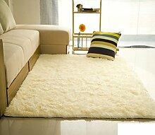 Ist Farbe Seide/Wolle Couchtisch Wohnzimmer Schlafzimmer Teppich/ Bett voller Teppich-G 140x200cm(55x79inch)