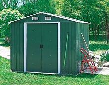 ITALFROM Box Haus Haus aus Raupe Garage Auto für