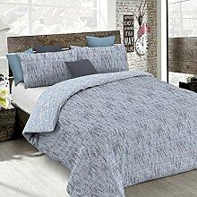 Italian Bed Linen cp-em-Graffiti blu-2p Bettbezug
