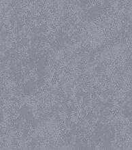 Italian Wallpaper Grau mit sandgestrahltem Relief.