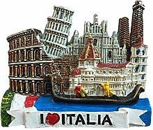 Italien 3D Kühlschrankmagnet Reise Aufkleber