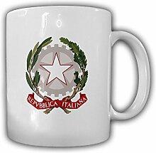 Italien Wappen_Emblem Repubblica Italiana Kaffee Becher #13520
