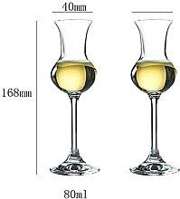 Italien Whisky Tasting Glass Becher Crystalherry