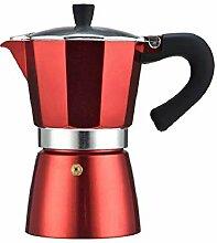 Italienische Kaffeekocher Aluminium Espresso Moka
