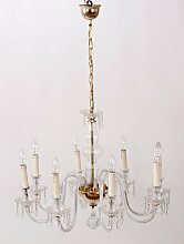 Italienischer Vintage Murano Glas Kronleuchter