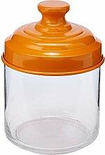 ITALO OTTINETTI Glas mit lackiertem Aluminium