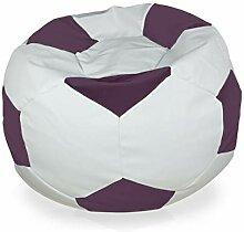 Italpouf Lavender Fußball Sitzsack Plüsch XL