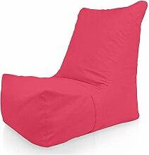 Italpouf Pink Sitzsack Sessel Outdoor XXL Rosa