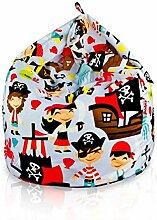 Italpouf Sitzsack Riesensitzsack L für Kinder