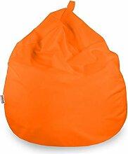 Italpouf Sitzsack Riesensitzsack Orange Sitzsack