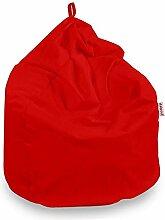 Italpouf Sitzsack Riesensitzsack Rot Sitzsack XL