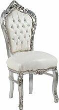 Italux Armchair barock Original aus Blattsilber.