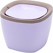 iTECHOR Tisch Mini- Mülltonne Mülltonne Mülleimer Papierkorb Tischabfalleimer