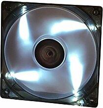 iTek Xtreme Flow - PC Kühlventilatoren (Computertasche, Ventilator, LED, Weiß, Schwarz)