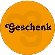 itenga 24x Sticker Geschenk (Motiv 5) 4cm Geschenk