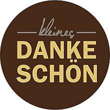 itenga 24x Sticker kleines Dankeschön (Motiv 19)