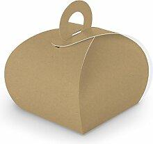 itenga 50x Geschenkbox Schachtel aus Karton zum