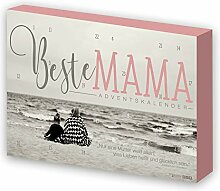 itenga Adventskalender Beste Mama modernes Design