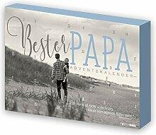 itenga Adventskalender Bester Papa für Männer