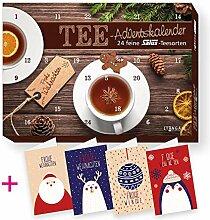 itenga Set Tee Adventskalender gefüllt mit 24