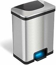 iTouchless AutoStep Mülleimer mit automatischem
