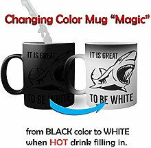 Its Great To Be White Magic Becher Mug| Lustige
