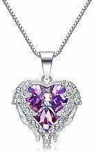 IUANUG 925 Silber Frauen Halskette Einfaches