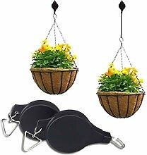 iufvbgxdh 2 Stück Pflanzenrolle ausziehbar
