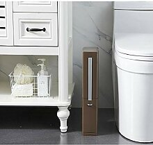 IUOU Toilettenbürste Schmaler Müll Badezimmer