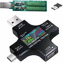 IUwnHceE Typ-C-USB-Tester Power Meter