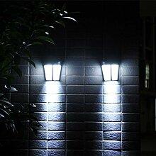 iVict LED Gartenleuchte, 6 LED Solar Power