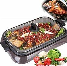 IVNZEI Elektrischer Teppanyaki Grill Tisch Hot