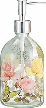 Ivy Home Seifenspender Glas Flasche mit