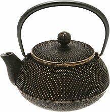 Iwachu Japanische Tetsubin-Teekanne, Eisen,
