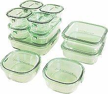Iwaki Pack&Range Deluxe Set Glasbehälter für