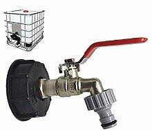 IWQW Wasserhahn Gartenhahn Abflussverbindung