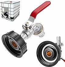 IWQW Wasserhahn Leitungswassertank-Ablassadapter
