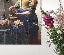 IXXI Wanddekoration Das Milchmädchen von Vermeer