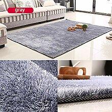 IYSI Grau Wohnzimmer Teppich Teppich Longhair für