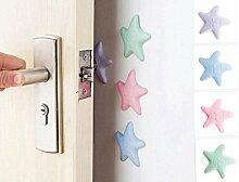 iZoeL Türpuffer Wandpuffer Sterne Selbstklebende