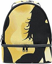 izorax Beauty Meerjungfrau in Full Moon Lunch Bag