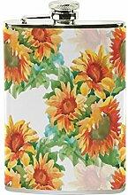izorax gelb Sonnenblumen bemalt Watercolor