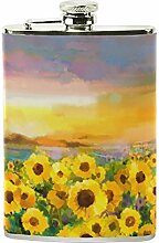 izorax Ölgemälde gelb Golden Sunflower Daisy