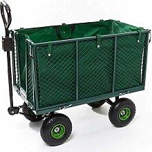 Izzy Gartenwagen Transportwagen 300kg Plane,