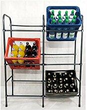 Izzy Getränkekistenregal für 6 Kästen, Regal