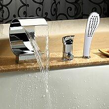 J&G Wasserfall Badewanne Wasserhahn Armatur