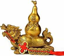 J.Mmiyi Feng Shui Ornamente Dragon Schildkröte