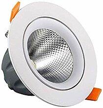 J.SCT-5 2,6-Zoll-LED-Einbaustrahler COB 5W