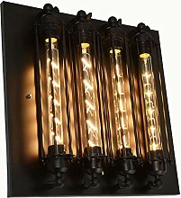 J.W. Flöte Wandlampe Vintage Retro Loft Industrie